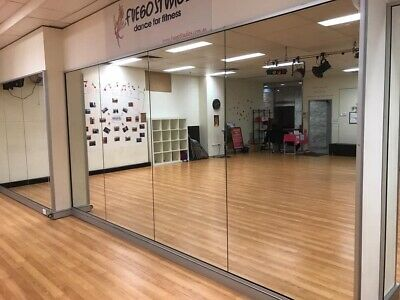 Full Length Studio Or Gym - Wall Mirrors