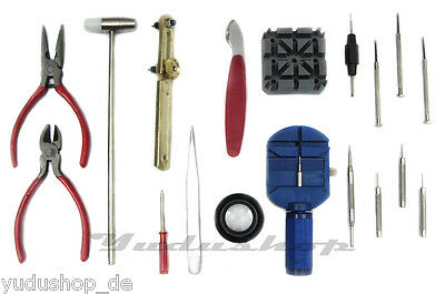 18 Pc Watchmaker Tools, Watch Tools 18 Tlg