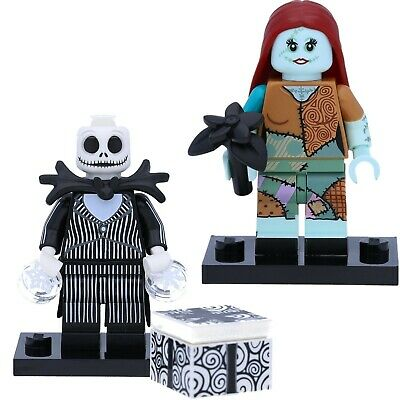LEGO 71024 Disney Serie 2 Minifiguren #15 Sally und #16 Jack Skellington