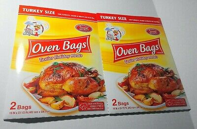 Home Select Oven Bags Turkey Size 2 pkgs (4bags total)