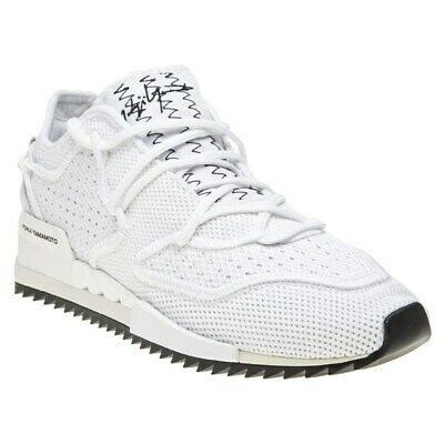 b0047993e99f8 ADIDAS X Y-3 Harigane Trainer White Black Mystery Ink Men s Shoes ...