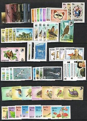 Lesotho 1970-92 unmounted mint/MNH selection, inc.Birds