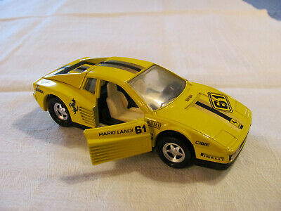 Matchbox * Ferrari Testarossa * Super Kings * 1988 * Seltenheit * Gelb