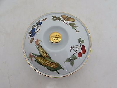 Royal Worcester Evesham Gold Design Lidded Dish Oven To Table Ware Tureen
