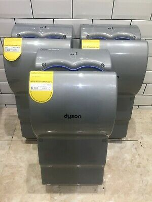 3 x Dyson Airblade AB14 Hand Dryer - Steel ABS - EXCELLENT CONDITION