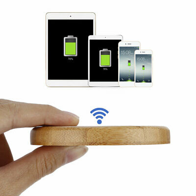 LESHP Charger QI Wireless FAST Charging for Samsung Galaxy S9 S8 S6 S7 Edge FUL