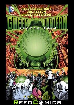 GREEN LANTERN SECTOR 2814 VOLUME 3 GRAPHIC NOVEL (200 Pages) New Paperback
