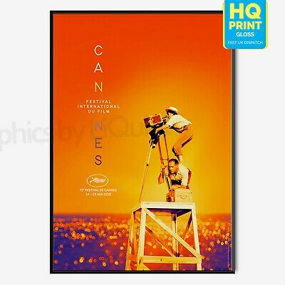 Cannes Film Festival 2019 International Event Poster Print | A4 A3 A2 A1 |