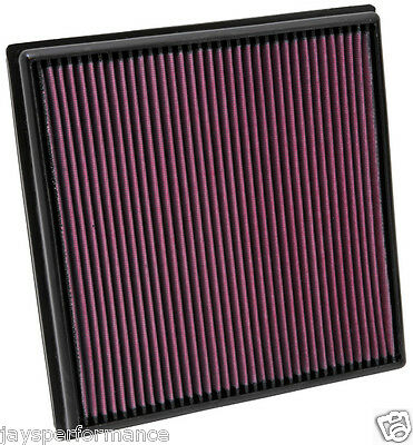 Kn Air Filter Replacement For Opel Astra 1.6L L4 09-10, Turbo