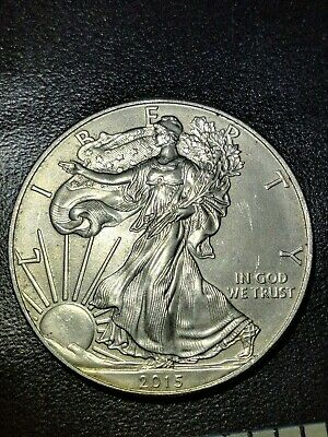 Silver Dollar XF Coin ~ 1 troy oz AMERICAN EAGLE Walking Liberty .999 Fine BU