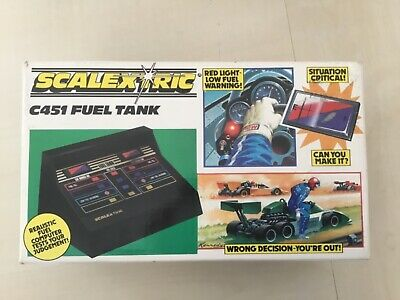 Classic Scalextric C451 Fuel Tank Boxed Used