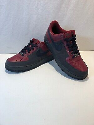 Nike Air Force 25 XXV Supreme Black Basketball Shoes Size 13
