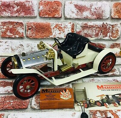 Vintage MAMOD Steam Powered Metal Car Roadster Boxed