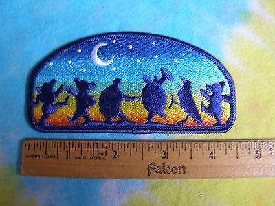 24c2c260b8a Grateful Dead Dancing Bears Terrapins Crow Moondance 4.5 Inch Iron On Patch