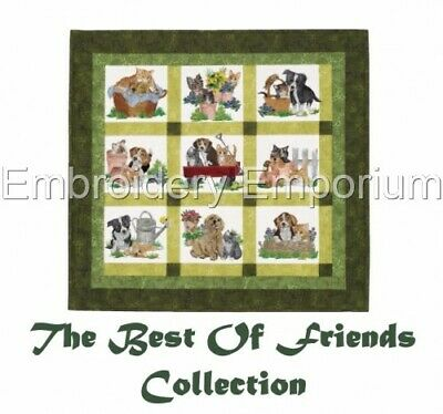 The Best Of Friends Collection - Machine Embroidery Designs On Cd Or Usb