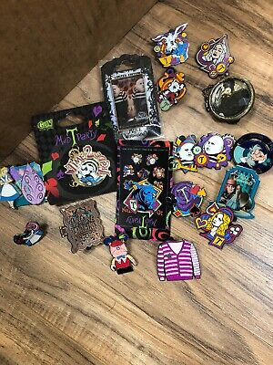 Disney Trading Pin lot New/used-AUTHENTIC:Including Limited Edition