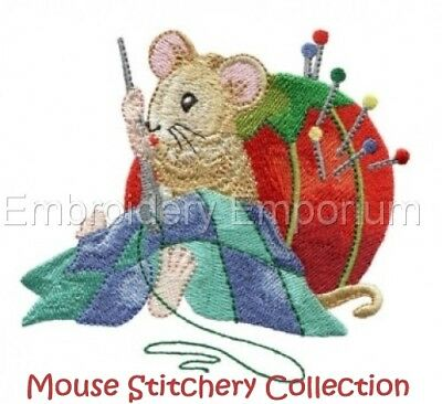 Mouse Stitchery Collection - Machine Embroidery Designs On Cd Or Usb