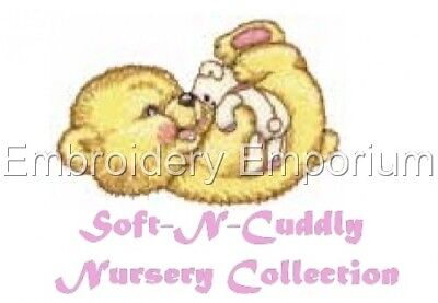 Soft-N-Cuddly Nursery Collection - Machine Embroidery Designs On Cd Or Usb