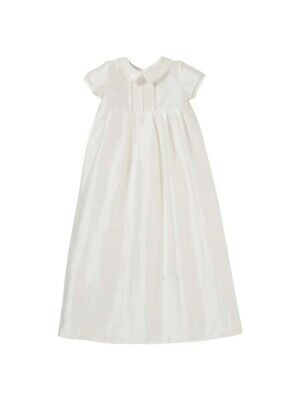 John Lewis Unisex Long Christening Gown / Cream 0-3 Months Brand New With Tags