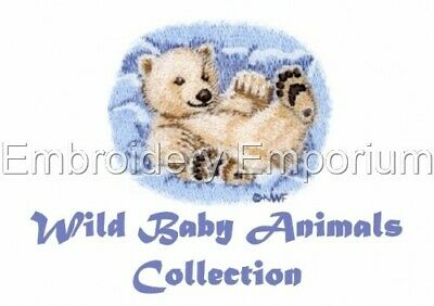 Wild Baby Animals Collection - Machine Embroidery Designs On Cd Or Usb