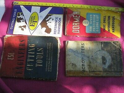 4 Small Engineers Well Used Reference Books