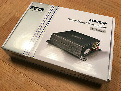 Axton A500DSP - Super-compact 5 Channel DSP with Bluetooth control for dsp/eq