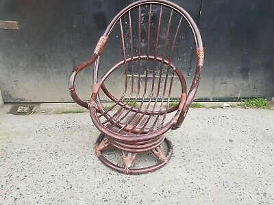 Bamboo Wicker egg Chair bargain lovely looking item reduced 4 space needed asap