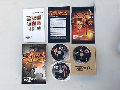 BEACH BODY INSANITY 60 day workout 13 dvd set