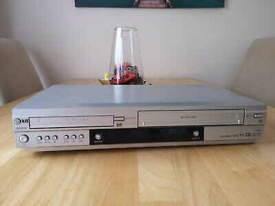 LG DVC8700 VHS Video Cassette Recorder DVD Player Combo Combi + Remote + Manual