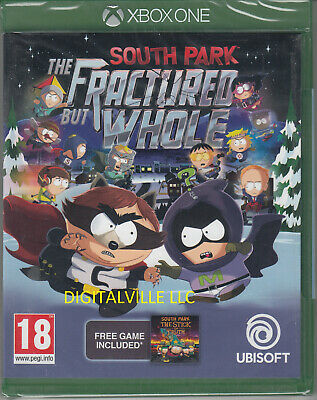 South Park The Fractured but Whole Xbox One Brand New Factory Sealed