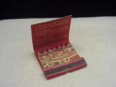 Vintage Clearman's Steak 'n Stein Inn California Feature Matchbook