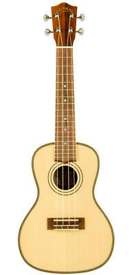 Lanikai Solid Spruce Top Series Concert Ukulele - Natural Satin Finish