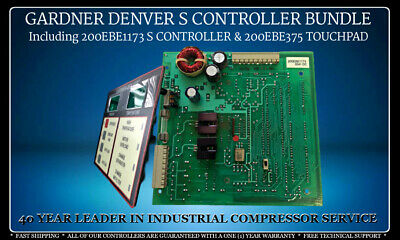 200Ebe1173/200Ebe375 Gardner Denver 's' Controller Savings Bundle With Warranty
