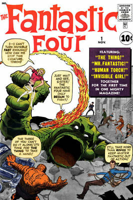 Us Comics Fantastic Four Bumper Digital Collection Over 500 Issues On Dvd