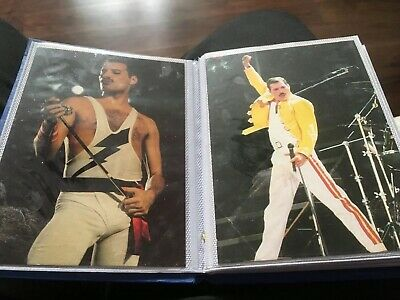 Queen Freddie Mercury Postcards 24 Collection In Book All From 1990s...