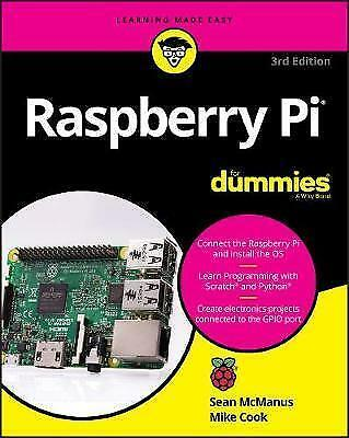 Raspberry Pi For Dummies by McManus, Sean, Cook, Mike-ExLibrary