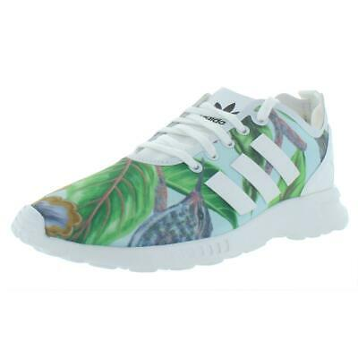 4c680c915b adidas Originals Womens ZX Flux Smooth Low Top Running Shoes Athletic BHFO  7118