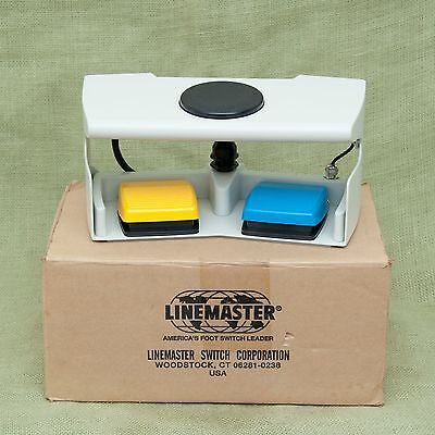 NEW LINEMASTER AQUILINE 971-SWNOM Footswitch HPS Foot Pedal