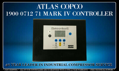 Atlas Copco 1900 0712 71 Mark Iv Programmed With Your Compressor'S Settings