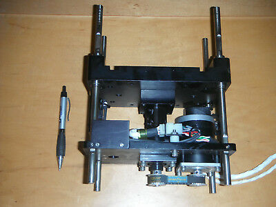 Linear Actuator w Stepper Motor, Encoder, Ball Screw and Limit Switches(4692)