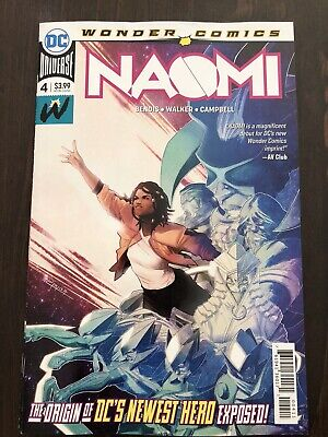 Naomi# 4 HOT 1st PRINT Jamal Campbell Main Cover DC Comics NM Already SOLD OUT!