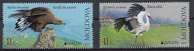 Moldova 2019 Europa Cept National Birds .set 2 Stamps Mnh