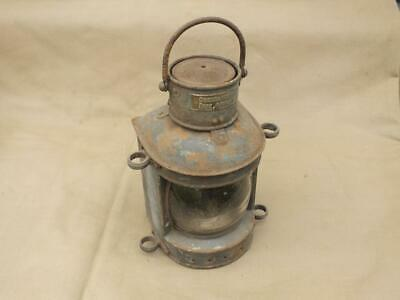 Superb Original Antique Ships Navigation Mast Light Birmingham England