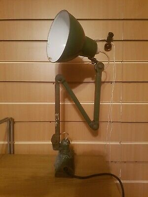 Vintage Anglepoise Lamp Industrial Machinists
