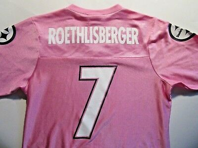 New NWT NIKE PITTSBURGH Steelers #7 Ben Roethlisberger Womens S L  for cheap
