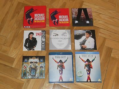 """Michael Jackson The Collection Caja 5 Cd + Blu-Ray """"this Is It"""". Perfecto Es-(4)"""