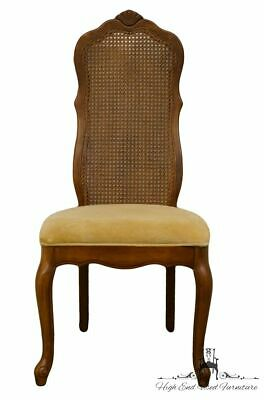 BERNHARDT FURNITURE Country French Regency Cane Back Dining Side Chair