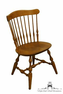 NICHOLS & STONE Rock Maple Spindle Back Dining Side Chair 2044 - #20 Antique ...