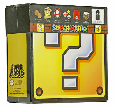 👀 👀Nintendo Super Mario Culturefly Collector Mystery Box Limited Edition -NEW!
