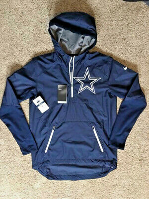 7f427a23f87a Men s NIKE On-Field Dallas Cowboys Fly Rush Half-Zip Pullover Small Jacket  Repel